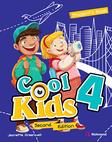 COOL KIDS 4 PACK STUDENTS BOOK + COOL READING + CD + ACCESS RICHMOND SPIRAL