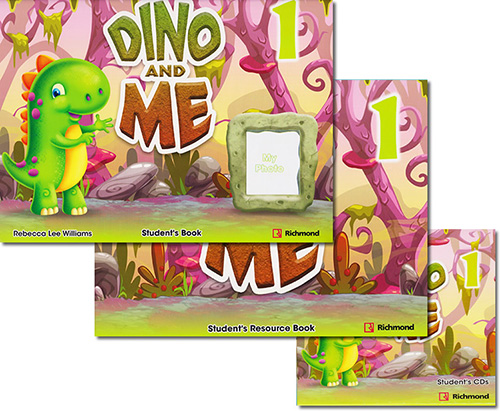 DINO AND ME 1 STUDENTS BOOK PACK (INCLUDE RESOURCE BOOK  AND CDS)