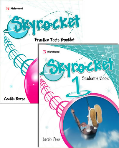 SKYROCKET 1 STUDENTS BOOK (INCLUDE PRACTICE TESTS BOOKLET + SPIRAL ACCESS)