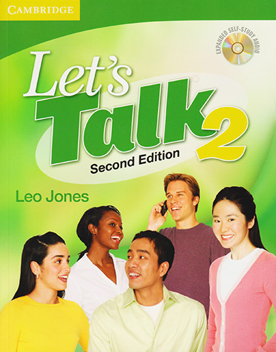 LETS TALK 2 STUDENTS BOOK WITH SELF STUDY AUDIO (INCLUDE CD)