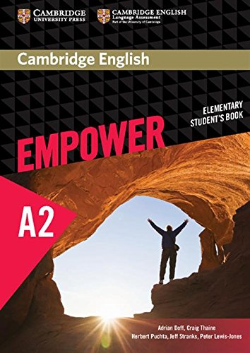CAMBRIDGE ENGLISH EMPOWER A2 ELEMENTARY STUDENTS BOOK