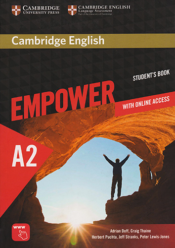 CAMBRIDGE ENGLISH EMPOWER A2 ELEMENTARY STUDENTS BOOK WITH ONLINE ACCESS (ONLINE WORKBOOK, TESTS AND PRACTICE)