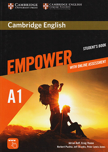 CAMBRIDGE ENGLISH EMPOWER A1 STARTER STUDENTS BOOK WITH ONLINE ASSESSMENT