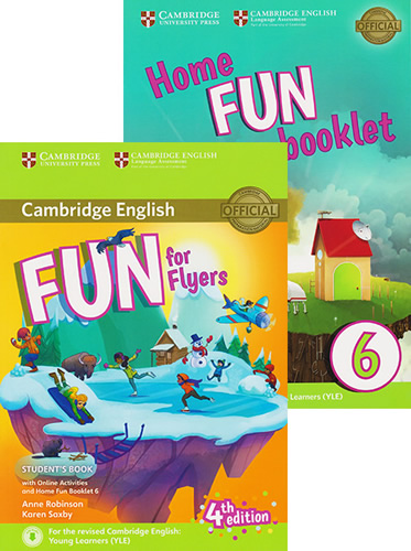 FUN FOR FLYERS STUDENTS BOOK WITH ONLINE ACTIVITIES AND HOME FUN BOOKLET 6
