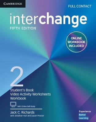INTERCHANGE 2 FULL CONTACT WITH ONLINE SELF STUDY AND ONLINE WORKBOOK