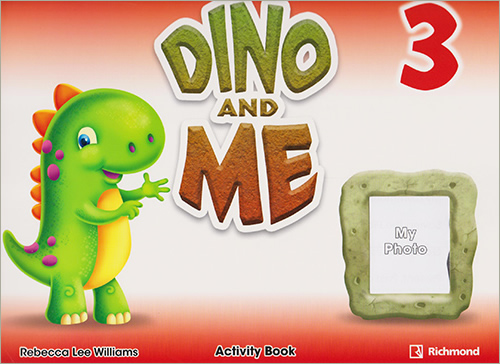 DINO AND ME 3 ACTIVITY BOOK