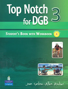 TOP NOTCH FOR DGB 3 STUDENTS BOOK WITH WORKBOOK (INCLUDE CD)