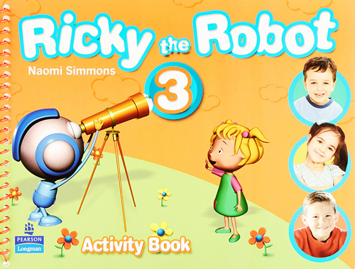 RICKY THE ROBOT 3 ACTIVITY BOOK