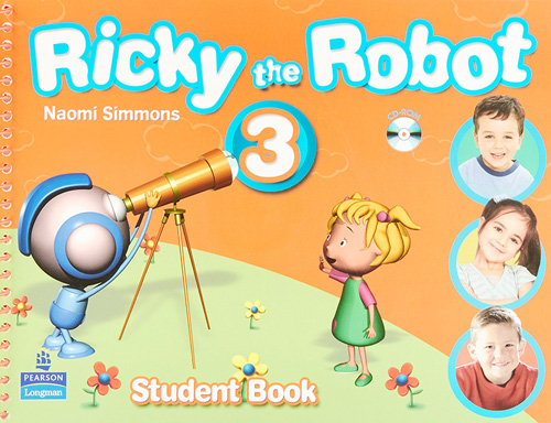RICKY THE ROBOT 3 (INCLUDE CD)