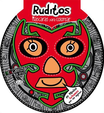 Librería Morelos Ruditos Mascaras Para Colorear