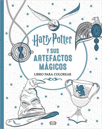 Librería Morelos | HARRY POTTER Y SUS ARTEFACTOS MAGICOS PARA COLOREAR