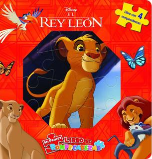 EL REY LEON (LIBRO CON 4 ROMPECABEZAS)