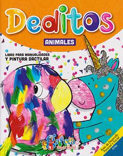 DEDITOS: ANIMALES (LIBRO PARA MANUALIDADES Y...