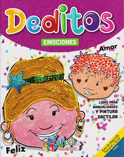 DEDITOS: EMOCIONES (LIBRO PARA MANUALIDADES Y...