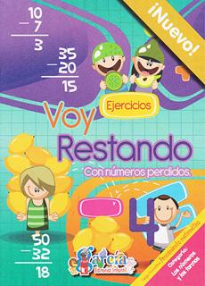 VOY RESTANDO 4: CON NUMEROS PERDIDOS