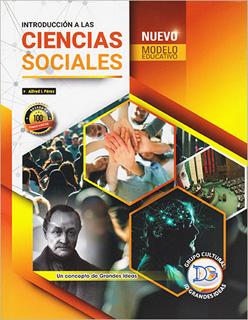 INTRODUCCION A LAS CIENCIAS SOCIALES. NUEVO MODELO EDUCATIVO (2 SEMESTRE 2019)