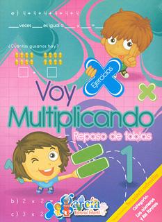 VOY MULTIPLICANDO 1: REPASO DE TABLAS