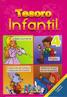 TESORO INFANTIL 4: LA BELLA DURMIENTE - PINOCHO -...