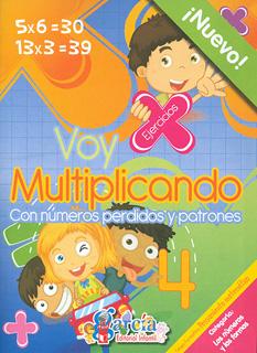 VOY MULTIPLICANDO 4: CON NUMEROS PERDIDOS Y...