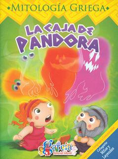 MITOLOGIA GRIEGA: LA CAJA DE PANDORA