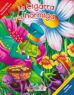 FABULAS PARA DORMIR: LA CIGARRA Y LA HORMIGA (C.)