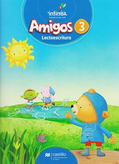 AMIGOS 3 LECTOESCRITURA PREESCOLAR INFINITA...
