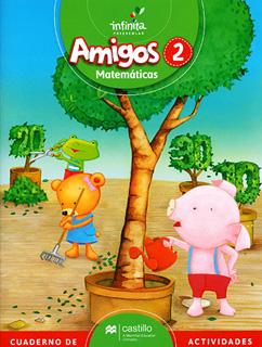 AMIGOS 2 MATEMATICAS PREESCOLAR INFINITA (INCLUYE...