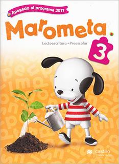 MAROMETA 3 LECTOESCRITURA PREESCOLAR (INCLUYE...