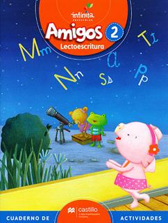 AMIGOS 2 LECTOESCRITURA PREESCOLAR INFINITA...