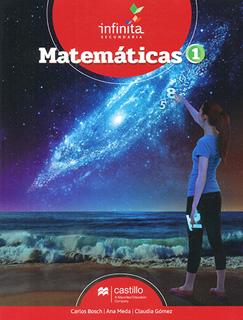 MATEMATICAS 1 SECUNDARIA INFINITA (INCLUYE CUADERNO DE EVIDENCIAS)