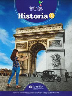 HISTORIA 1 SECUNDARIA INFINITA (INCLUYE CUADERNO...