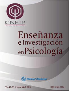 ENSEÑANZA E INVESTIGACION EN PSICOLOGIA