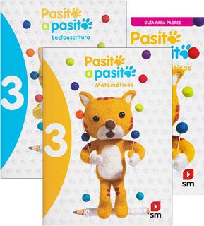 PASITO A PASITO 3 PACK (LECTOESCRITURA, LECTURAS,...