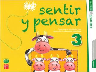 SENTIR Y PENSAR 3 PREESCOLAR - PACK CON GUIA DE PADRES (CONECTA)