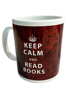 TAZA (KEEP CALM AND READ BOOKS)