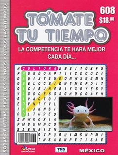 TOMATE TU TIEMPO: SOPAS DE LESTRAS, SIGUE LOS...
