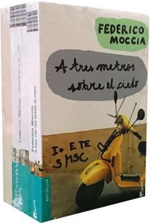 PAQUETE FEDERICO MOCCIA (A TRES METROS SOBRE EL...