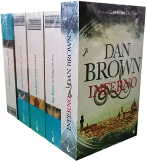 PAQUETE DAN BROWN (LA CONSPIRACION - ANGELES Y...
