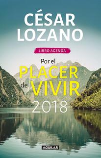 LIBRO AGENDA 2018 POR EL PLACER DE VIVIR