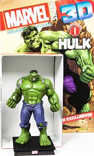 SUPER HEROES MARVEL 3D HULK (INCLUYE FIGURA COLECCIONABLE)