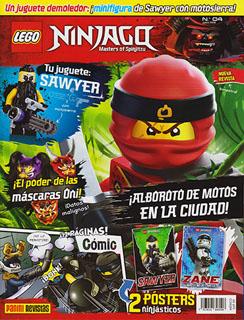 LEGO NINJAGO NUM. 4