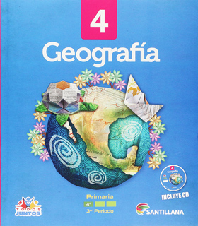 GEOGRAFIA 4 PACK (INCLUYE CD) 3ER PERIODO (TODOS JUNTOS)