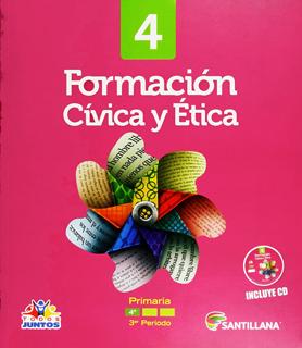 FORMACION CIVICA Y ETICA 4 PACK (INCLUYE CD) 3ER PERIODO (TODOS JUNTOS)