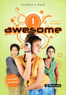 AWESOME 1 STUDENTS BOOK (INCLUDE CD)