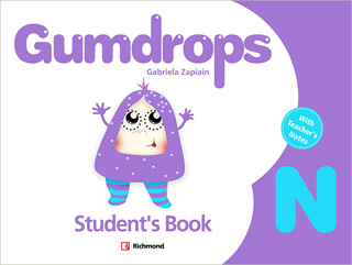 GUMDROPS NURSERY PACK STUDENTS BOOK (INCLUDE CD)