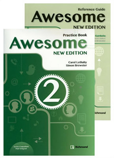 AWESOME 2 PRACTICE BOOK CON REFERENCE GUIDE NEW...