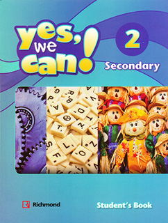 YES, WE CAN! 2 SECONDARY PACK STUDENTS BOOK (INCLUYE FICTION READER)