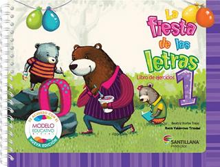 LA FIESTA DE LAS LETRAS 1 PACK (LIBRO DE LECTURAS...