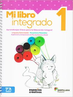 MI LIBRO INTEGRADO 1 PACK PREESCOLAR (ESPACIOS...