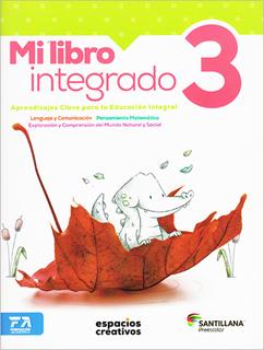 MI LIBRO INTEGRADO 3 PACK PREESCOLAR (ESPACIOS...